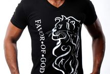 M - LION Christian T-Shirts - Black & White  / Men, look bold with a stylish swagg in this Royal Lion F.O.G. FAVOR OF GOD Christian T-Shirt! This ribbed v-neck t-shirt, features the bold Lion design in a white color on the front of the T-shirt. In addition, this exclusive T-shirt features hidden letters in design of the Lion which makes it really unique and a true must have !!! / by F.O.G. FAVOR OF GOD