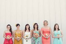 Ca change des demoiselles d'honneur! / #epingler #wedding #bridemaids #bridesmaidsdresses #mariage #original
