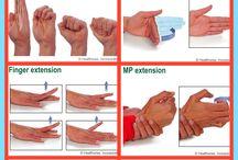 Exercices pour arthrite mains