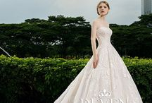2018 DEVEN wedding dress / DEVEN wedding dress represent the unique originality in KNIGHTLY GROUP, it comes from the deep understanding of ladies and praises of love. Absorbed the Europe imperial style, nobleness comes. DEVEN pay attention to the soft fabric and good Vision, using Swarovski crystal, high quality fabric and high-level custom manual craft to create the distinctive wedding dress.