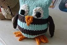 KNITTED cuteness (Crochet and Felt)