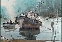 Rybářské lodi