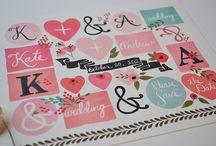 Graphic Design: Wedding & Cards