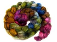 FatCatKnits.com / Fiber! Creating yarn with spinning fiber, creating garments and art with yarn! Spin, knit, crochet, weave, felt- I love all of it, and do all of it.