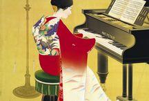 art or artistic photo of kimono