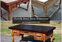 Crafty: Before & Afters / Home makeover projects with before and after photos / by Bev Leestma   The MYO Zone