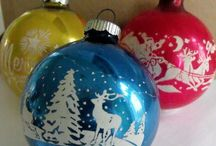 Christmas - Vintage Ornaments