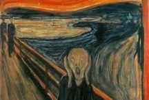 Symbolisme ~ Edvard Munch / 12 december 1863 Løten - 23 januari 1944 Landgoed Ekely bij Oslo