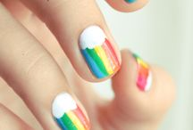 Rainbow is my favorite color / by Alison N