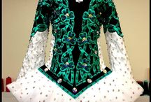 Irish dance dresses / A collection of my favourite dresses!