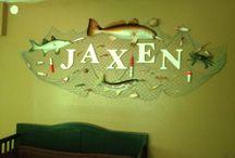 Fishing Themed Kids Room