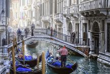Venice / Gondolas and Canals, Insuremytrip, and pins of a beautiful Italian landscape. / by InsureMyTrip
