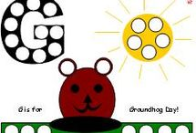 Ground Hog Early Learning Activities / On the fateful day when Puxatawney Phil pokes his head out, be ready to celebrate with these fun printables from Making Learning Fun. Find them and more at www.makinglearningfun.com. Enjoy!  / by Jo Kramer