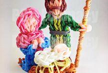 Rainbow Loom Ideas / by Melanie Venglarik