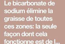 bicarbonate de soude citron
