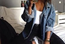 Outfits with denim jacket