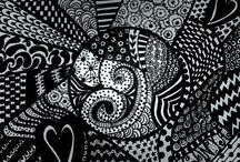 Zentangles / plethora of patterns / by Crystal Donnelly