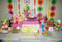 Lalaloopsy party planning / by Tanya Pocaigue