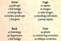 2014 workout plan  / by Kailey Allen