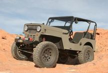 Willys CJ3B and Jeeps / Stuff I want to do to a Willys CJ3B / by Chuck Hackett