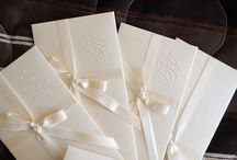 Wedding Invitations / Get custom-designed wedding invitations in Markham and Toronto. Have your own design? We can get it printed and cover all your wedding stationary needs.
