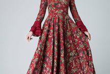 insfirasi long Dress