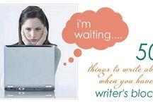 Blogging / by Alanna Teague