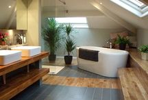 Dachboden Badezimmer