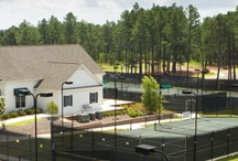 Tennis at Legacy Lakes /  Not to brag.. but we have one of the areas finest, state of the art tennis facilities. Okay... we're bragging. www.legacylakes.com