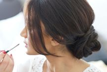 Wedding Hair / At No. 2 The Green we love a wedding and bridal hair is a particular specialism
