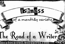 On My Blog / posts from my blog The Road of a Writer http://deborahocarroll.wordpress.com/ (writing/life/general) and from The Page Dreamer http://thepagedreamer.wordpress.com/ (book blog)