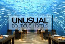 Incredible & Unusual Boutique Hotels / From Greek farmhouses to graffiti-covered design hotels in Toronto, to luxury converted shipping containers in Antwerp, if you're looking for a holiday that's just a little unusual, you have plenty of options. Why stay in a bland chain when you can try something really unique?