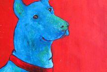 Art from Suzan / Animals, humans,