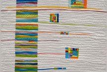 Quilting / Quilting, old and new.  #quilting #quilts #fabric #sewingskills