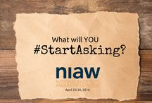 #StartAsking / This year for National Infertility Awareness Week (April 24-30, 2016) we want the #1in8 to #StartAsking questions along with us!   To learn more about the 2016 #NIAW theme go to: www.resolve.org/niaw