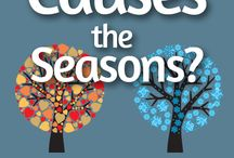 Montessori Changing of Seasons / Summer is winding down and the first hints of fall can be seen. Track the changing of the seasons with these great ideas.
