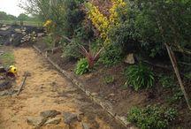 Paillage en chanvre : efficace et durable -  Mulching hemp: efficient and sustainable / le paillage de chanvre est idéal pour vos parterres de fleurs ou massifs.Il permet d'économiser l'eau, de réchauffer les racines et d'avoir de petites mauvaises herbes très très facilement après plusieurs mois