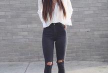 [Fashion] Look Preto & Branco