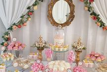 Princess Baby Shower - Pink and Gold