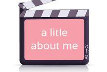 Quem sou: / Know a little more about me | Conheça um pouco sobre mim / by Alessandra M
