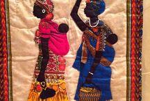african art quilts
