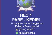 Profil HEC 1 PARE / Selamat datang di Official pinterest HEC 1 PARE. HEC 1 PARE adalah salah satu lembaga bimbingan belajar bahasa inggris yang berada di Kampung Inggris Pare Kediri