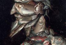 giuseppe arcimboldo / by M. MARCHESSEAULT