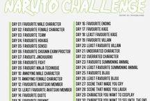 30 Day Naruto challenge