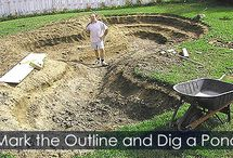 Pond Building Steps / How to build a garden pond? Step-by-step instructions for building, landscaping and maintaining a fish pond with waterfall.