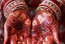 Indian tattos Henna