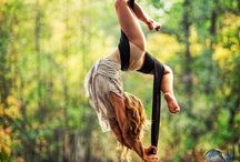 Aerial Silks in Nature