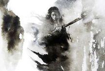kung Fu illustrations
