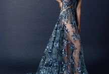Special Dresses in Blue and Shades