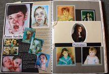sketchbook contextual studies